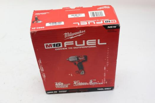 Milwaukee 2860-20 M18 Cordless Impact Wrench (Tool Only)