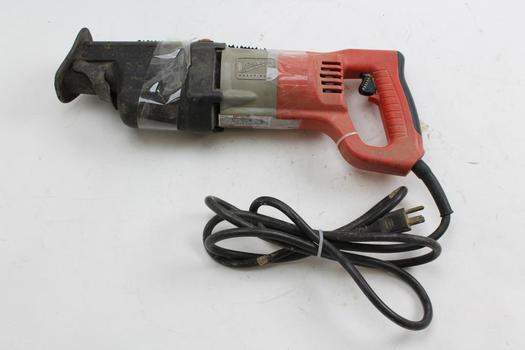 Milwaukee 6520 21 >> Milwaukee 6520 21 Heavy Duty Reciprocating Saw Property Room
