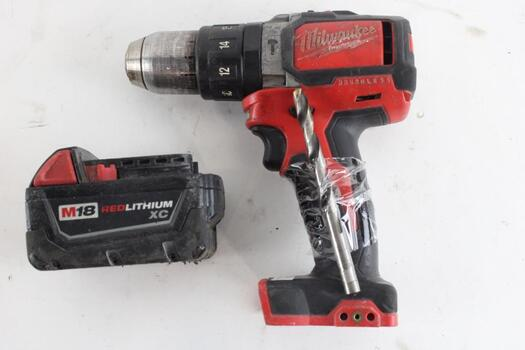 Milwaukee Compact Brushless Hammer Drill Driver