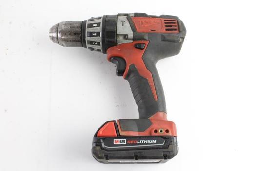 Milwaukee Cordless Hammer Drill