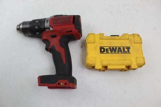 Milwaukee Drill & Dewalt Drill Bits