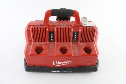 Milwaukee M12 And M18 Rapid Charge Station