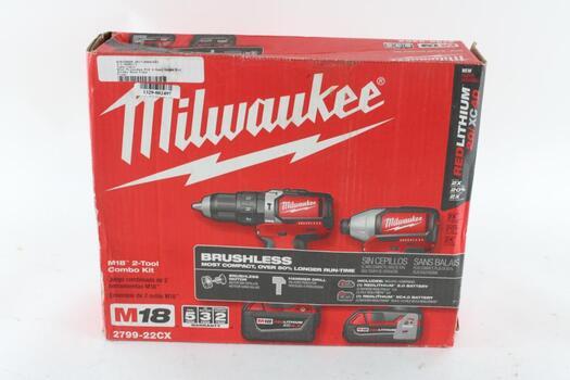 Milwaukee M18 2 Tool Combo Kit