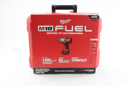 Milwaukee M18fuel Impact Wrench