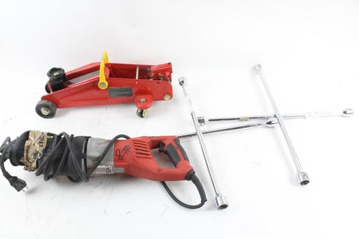 Milwaukee Reciprocating Saw, Floor Jack And More | Property Room