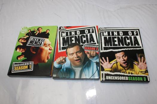 Mind Of Mencia: Uncensored Seasons One, Two, And Three DVD Sets