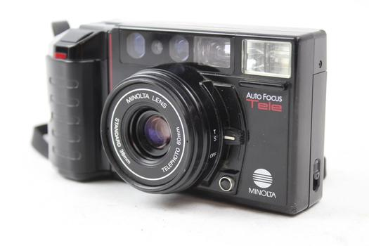 Minolta Auto Focus Tele 35mm SLR Camera