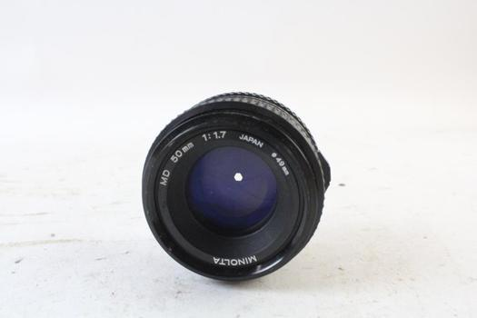 Minolta Camera Lens