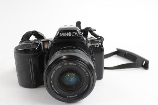 minolta maxxum 3xi 35mm slr camera property room rh propertyroom com minolta maxxum 3xi owners manual minolta maxxum 3xi owners manual