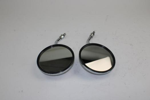 Mirrors For Motorcycle; 2 Pieces