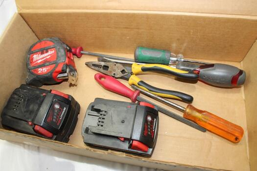 Miscellaneous Lot Of Tools, 9 Pieces