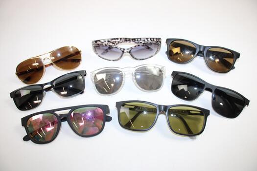 Mixed Generic Sunglasses Lot, 15+ Pieces
