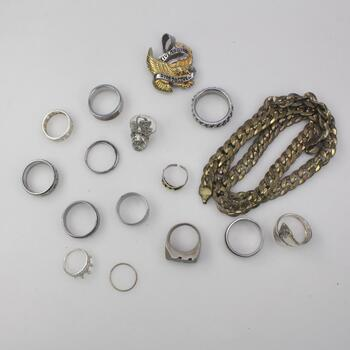 Mixed Jewelry, 15 Pieces