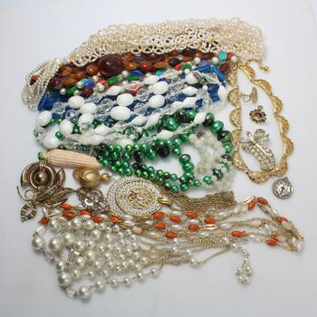 Mixed Jewelry, 20 Pieces, Includes Silver Pendant