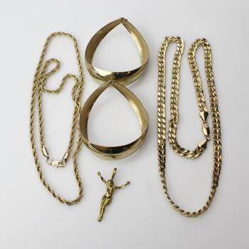 Mixed Jewelry, 4 Pieces