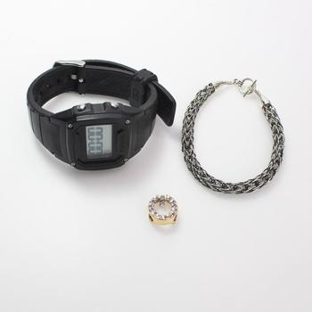 Mixed Jewelry And Watch, 3 Pieces