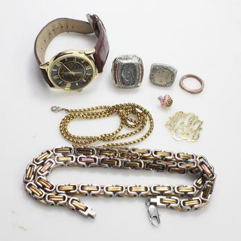 Mixed Jewelry And Watch, 5+ Pieces