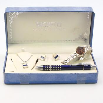 Mixed Jewelry And Watch Set