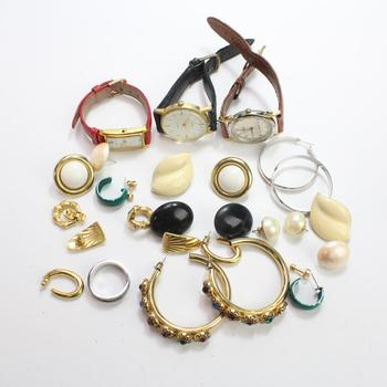 Mixed Jewelry And Watches, 10+ Pieces