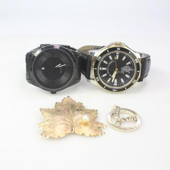 Mixed Jewelry And Watches, 4 Pieces