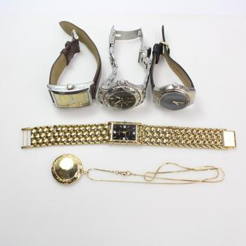 Mixed Jewelry And Watches, 5 Pieces