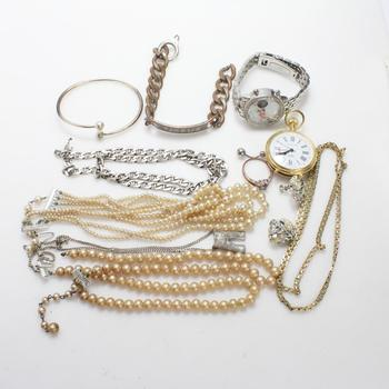 Mixed Jewelry And Watches, 5+ Pieces
