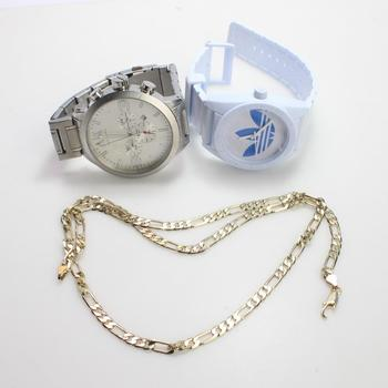 Mixed Necklace And Watches, 3 Pieces