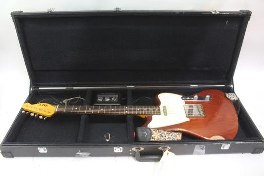 MJT Electric Guitar With M-Audio Fast Track