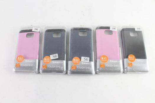 Mobilegear Tough Shell Cell Phone Cases, 5 Pieces