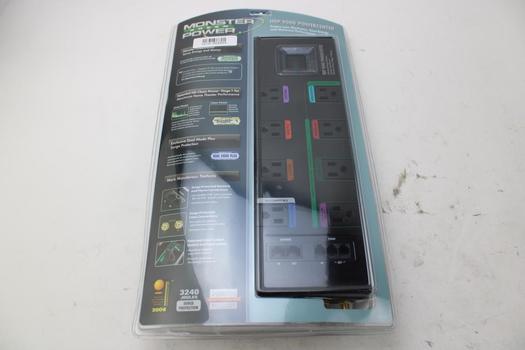 Monster Cable 121619 GreenPower Hdp 900G PowerCenter Strip