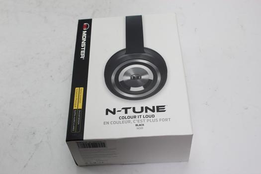 Monster N-Tune Noise Isolation Headphones