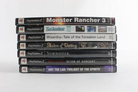Monster Rancher 3 And More, 7 Games For Playstation 2