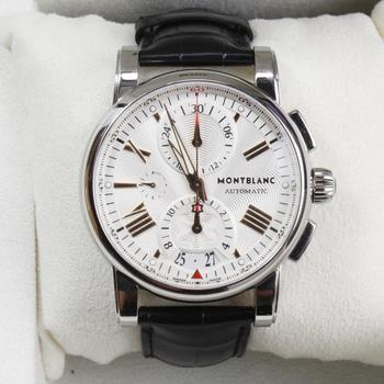 Mont Blanc Meisterstruck Star Chrono Watch - Evaluated By Independent Specialist