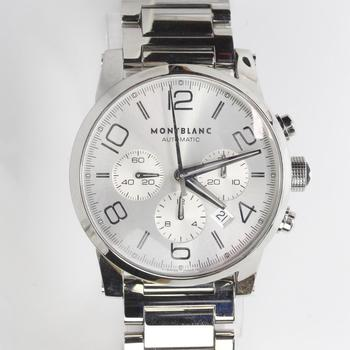 Montblanc Timewalker Chrono Watch - Evaluated By Independent Specialist