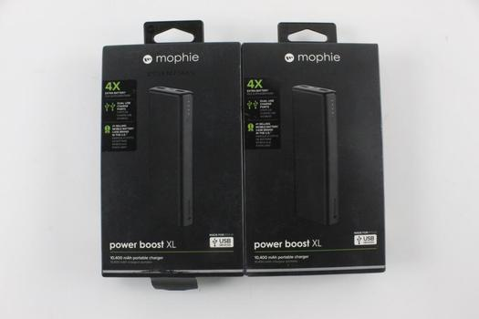 Mophie Portable Chargers, 2 Pieces