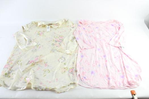 Morgan Taylor Womens Nightgown And More, Assorted Sizes, 5+ Pieces