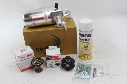 MotoRad Thermostat, GPD Washers And More, 5 Pieces