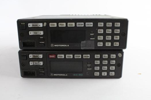 Motorola 2-Way Radio Control Unit, 2 Pieces