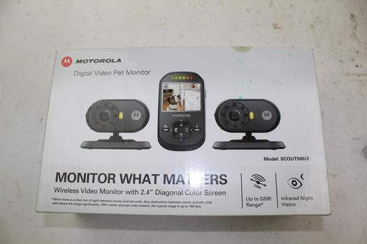 Motorola Digital Video Pet Monitor