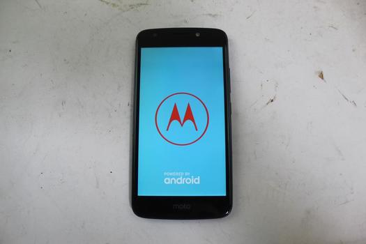 Motorola Moto E 4th Gen, 16GB, Unknown Carrier, Google Account Locked, Sold For Parts
