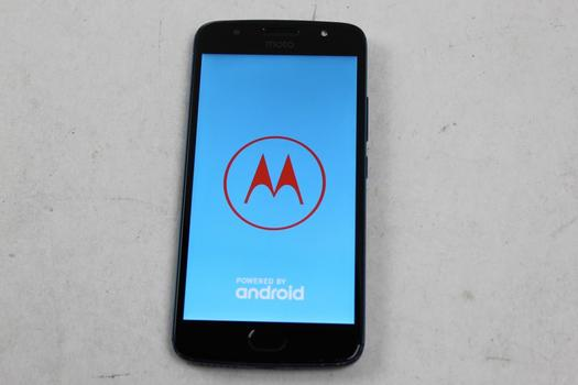 Motorola Moto G5S, 32GB, Unknown Carrier, Google Account Locked, Sold For Parts