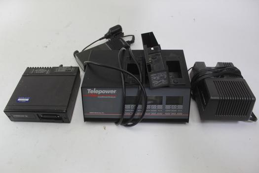 Motorola Mt1000 Receiver, Telepower Conditioner/analyzer, & More; 4 Pieces