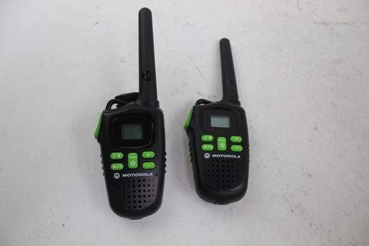 Motorola Talkabout MD200R Two Way Radio: 2 Items