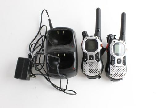 Motorola Walkie-Talkies, 2 Pieces