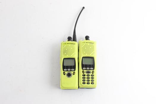 Motorola XTS 5000R Two Way Radios, 2 Pieces