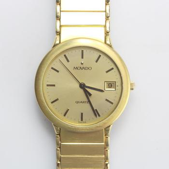Movado Gold-Toned Watch
