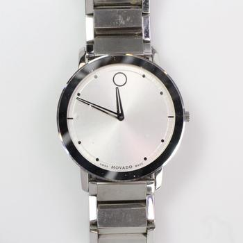 Movado Museum Mirror Bezel Watch