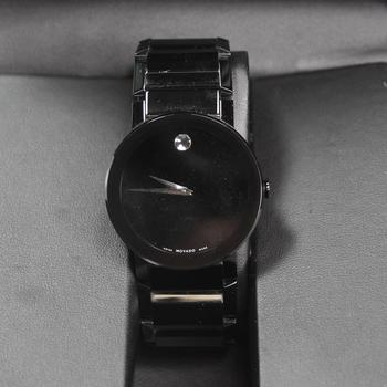 Movado Sapphire Onyx Mens Watch