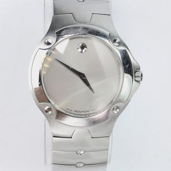Movado Silver Sports Edition Watch