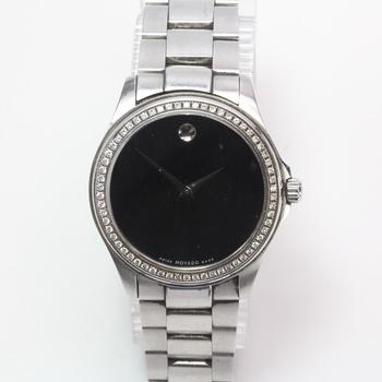 Movado Watch With Diamond Accents